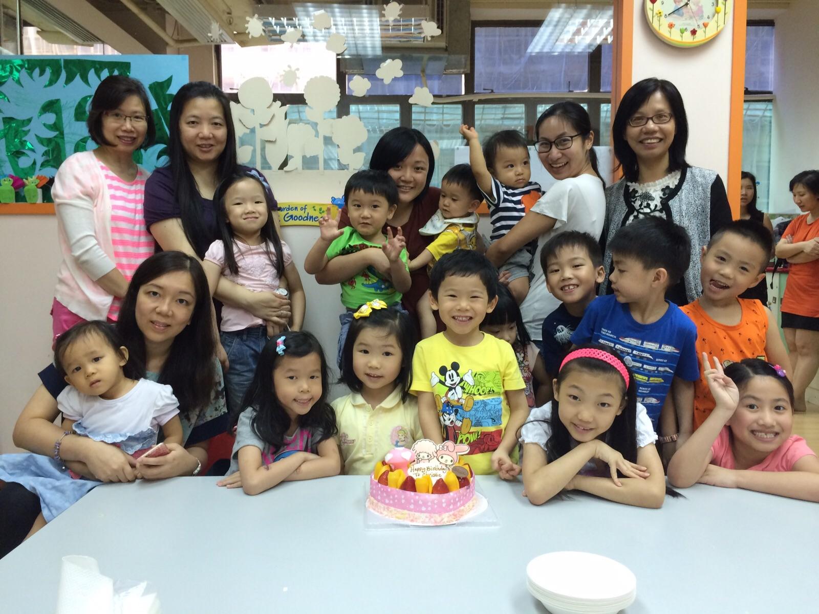 兒童生日慶祝