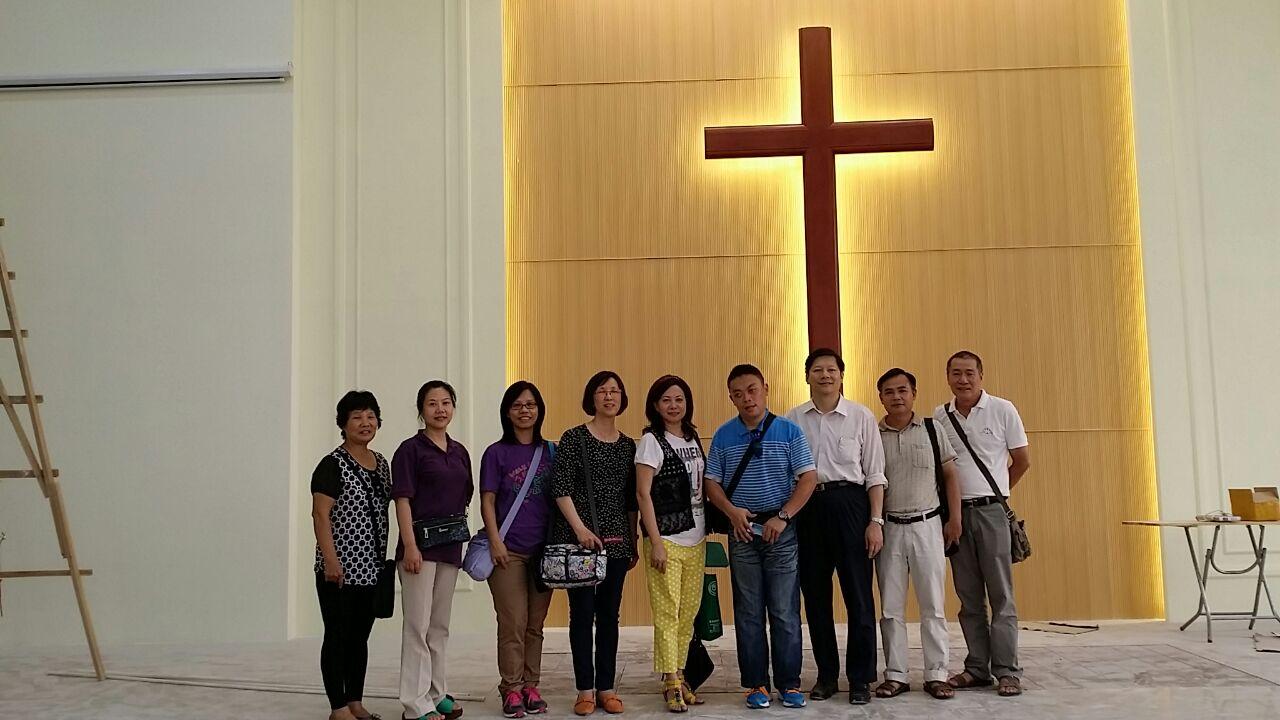 容奇宣教之旅